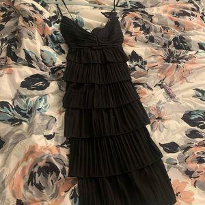 Escada Couture Black Flapper cocktail dress